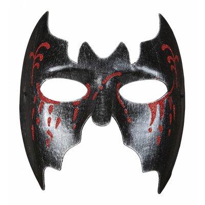 Masker Vleermuis Met Bloedende Ogen