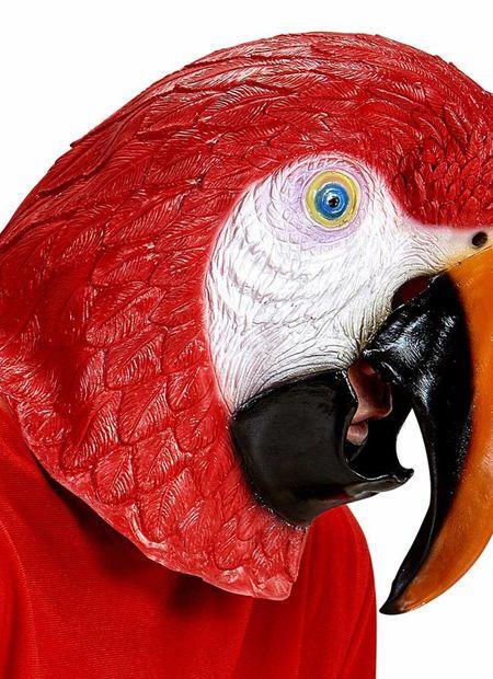Masker, papegaai