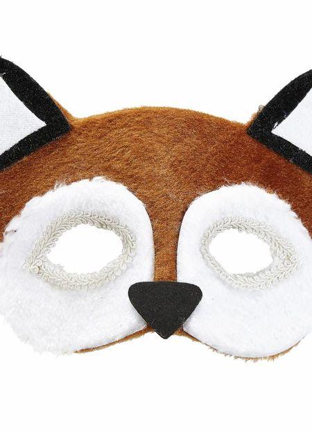 Plushe oogmasker, vos