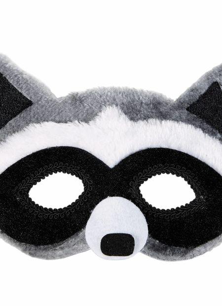 Plushe oogmasker, wasbeer