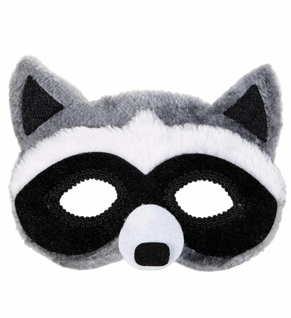 Plushe Oogmasker Wasbeer