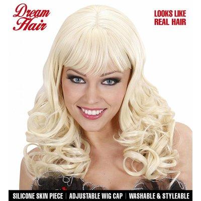 Pruik Droomhaar Katy Blond