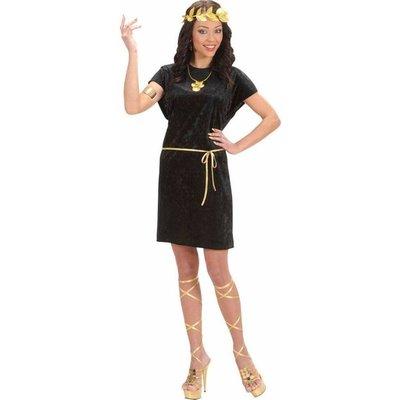 Tuniek Zwart Met Gouden Riem