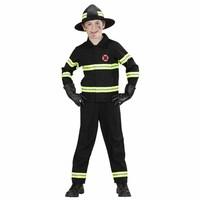 Widmann Brandweerjongen Zwart