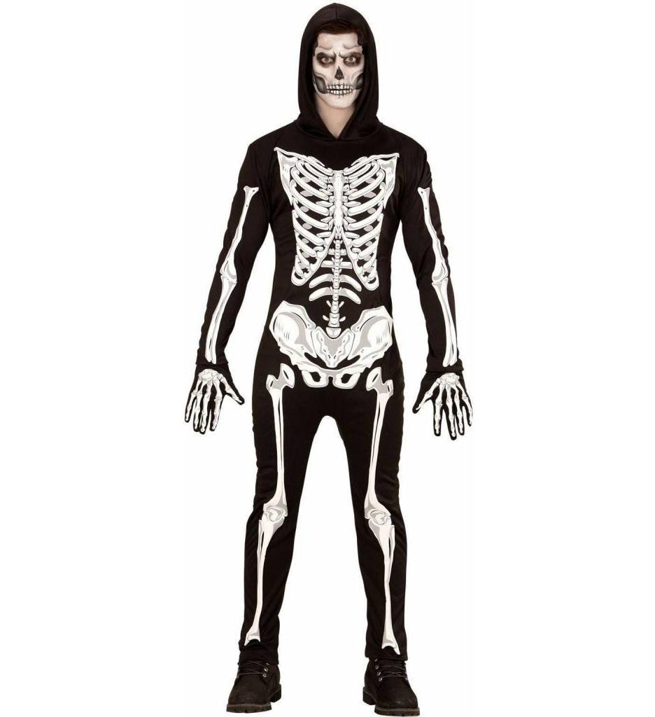 Skelet Lichtgevend In Donker