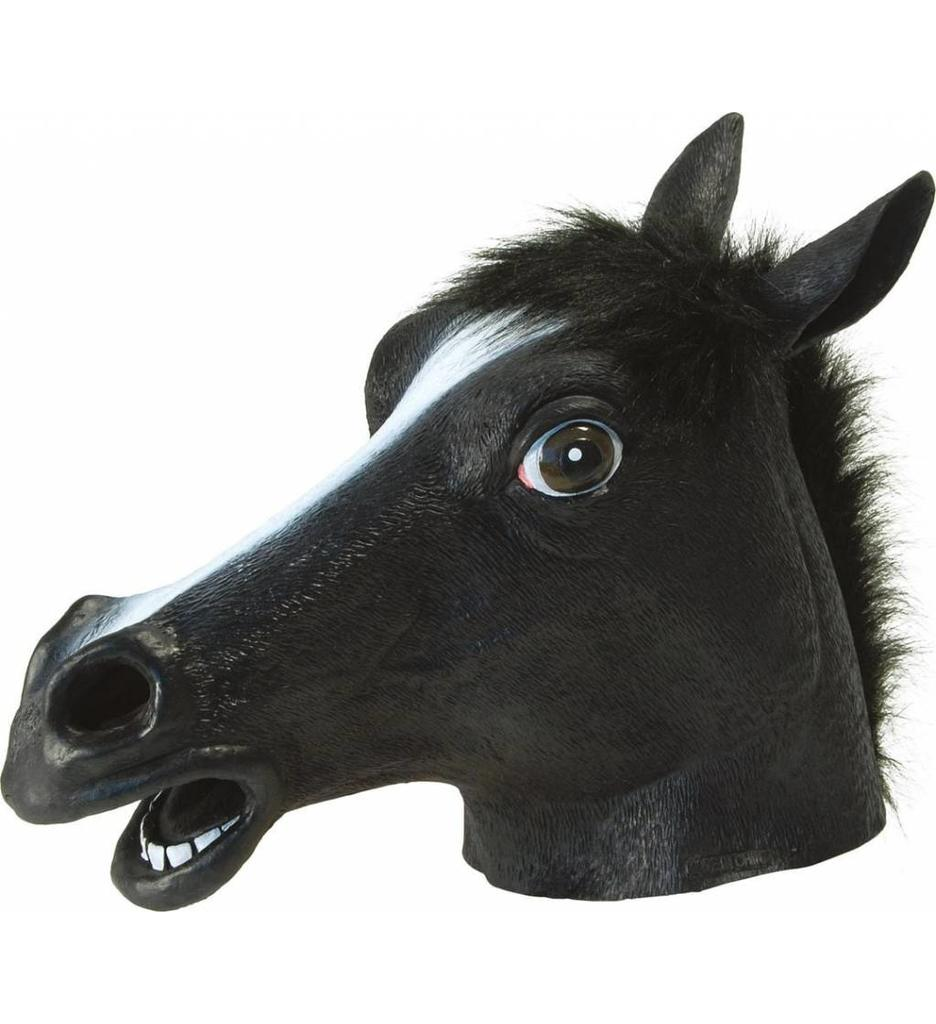 Paardenmasker Black Beauty