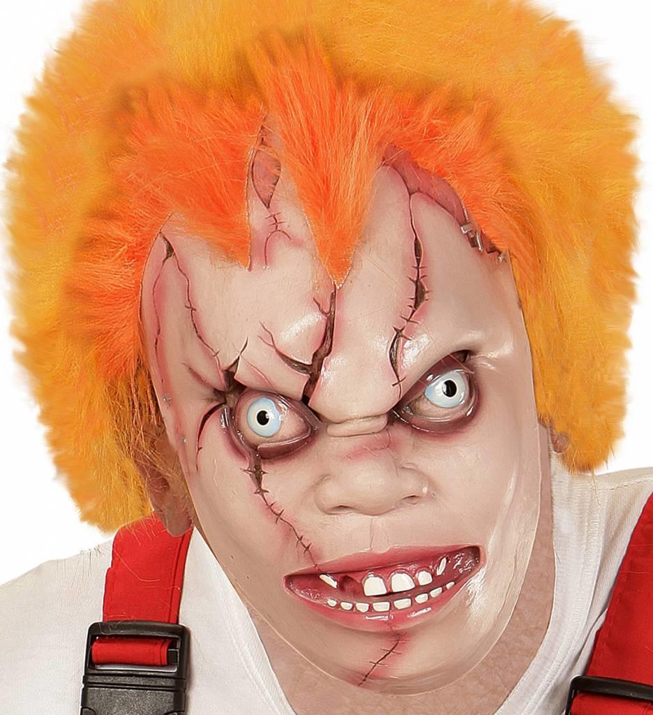 Masker Killer Doll Met Haar