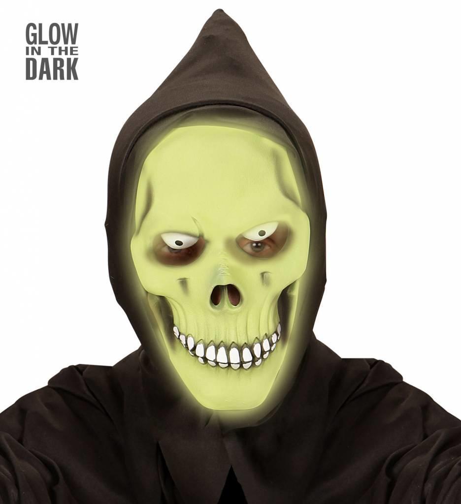 Masker Gimreaper Groen Lichtgevend In Donker