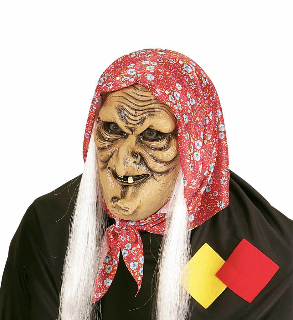 Masker Heks Met Haar