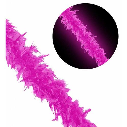 Boa 180Cm, Neon roze