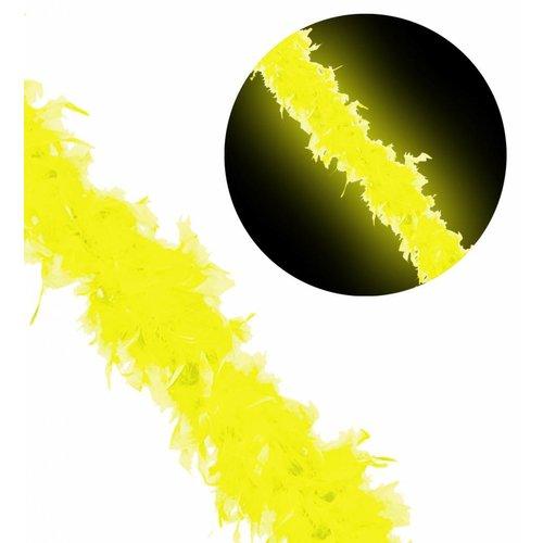 Widmann Boa 180Cm, Neon Geel