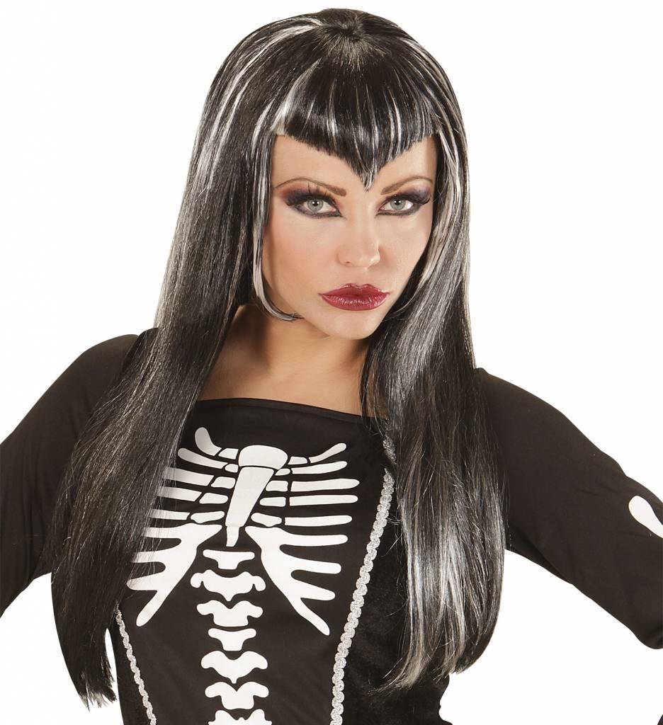 Pruik Skeletria
