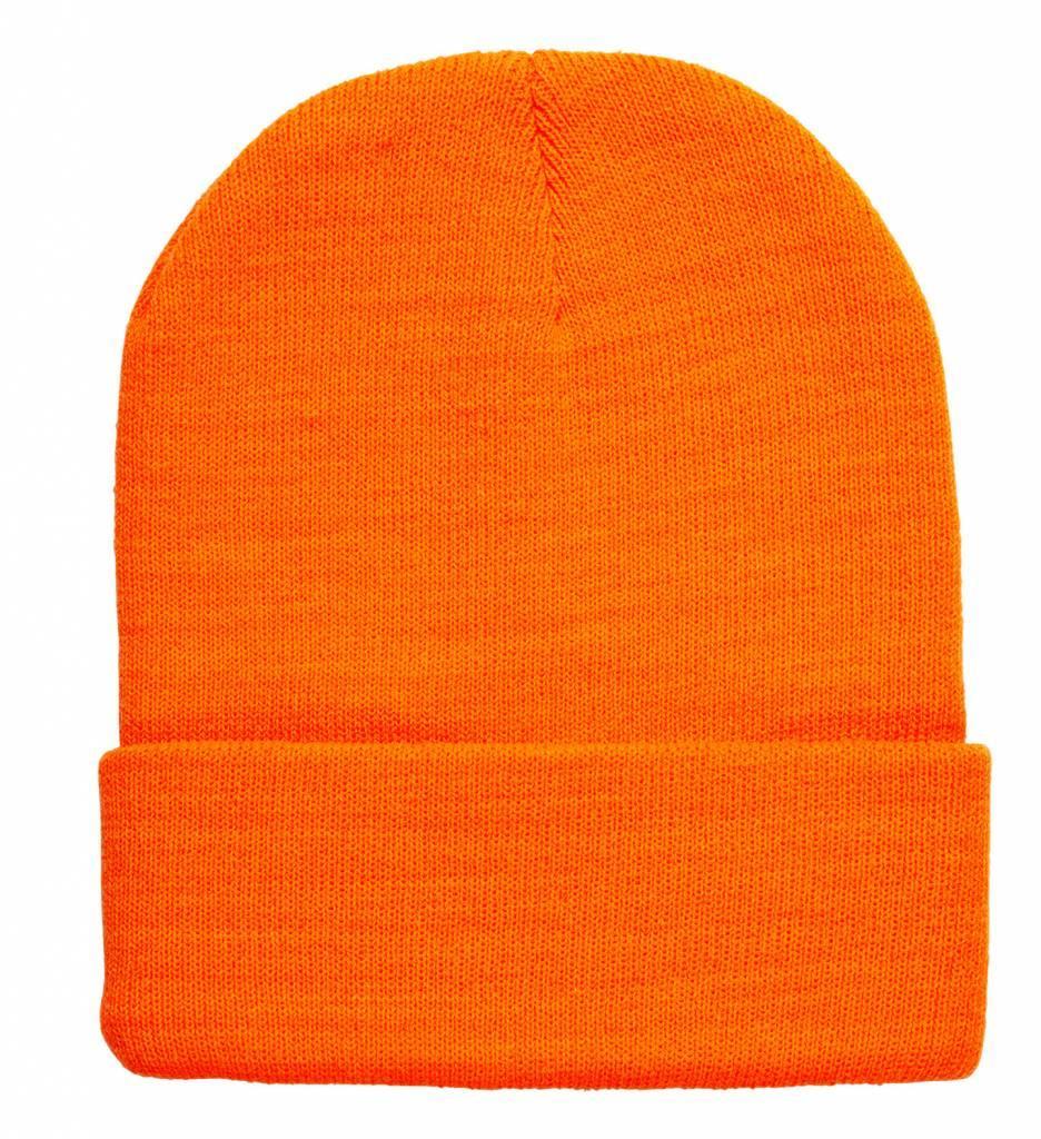 Beanie Neon Oranje