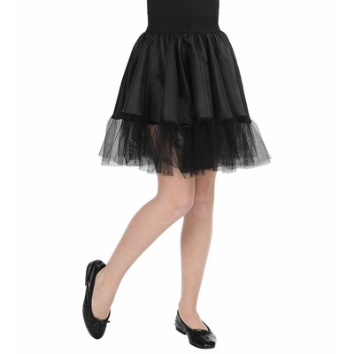 Petticoat Zwart Kind