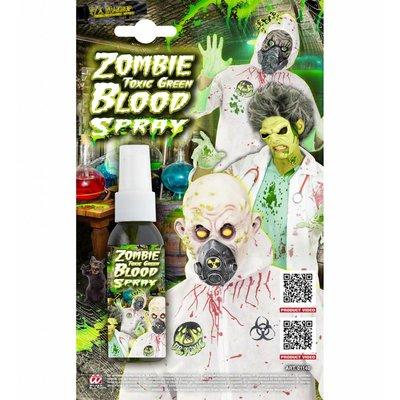 Zombie Bloedspray Groen 48Ml