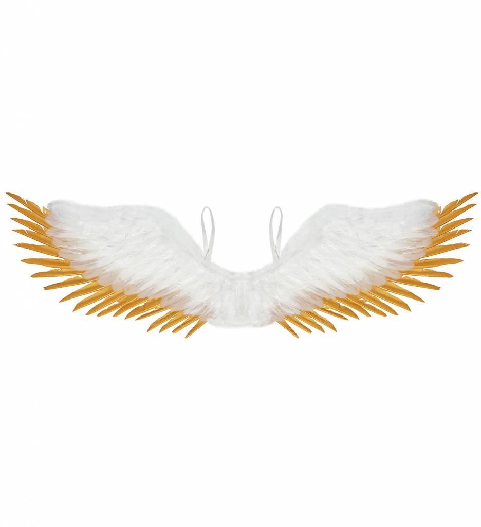 Vleugels Wit / Goud 100X25Cm