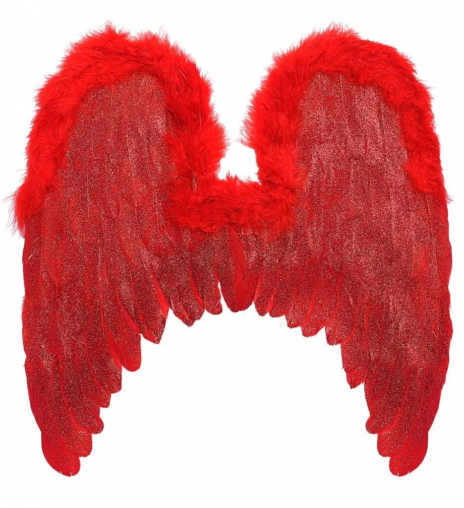 Vleugels Rood, 46X49Cm
