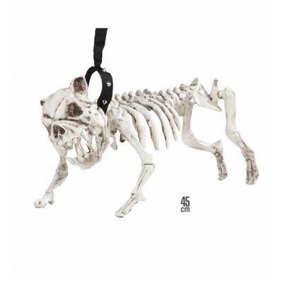 Skelet Hond Met Riem 45Cm