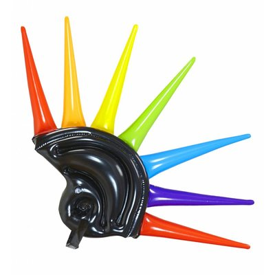 Opblaasbare Meerkleurige Helm