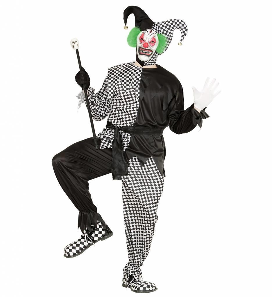 Evil Jester Zwart/Wit