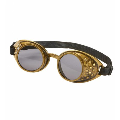 Stofbril Steampunk Brons