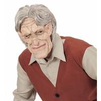 Masker Oude Man Met Haar