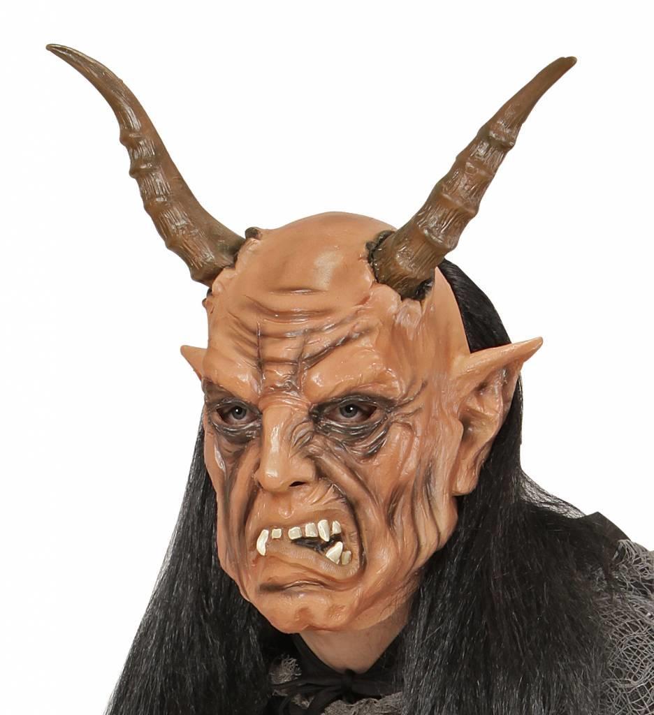 Masker Duivel Met Haar