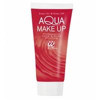 Aqua Make-Up Tube 30Ml Rood
