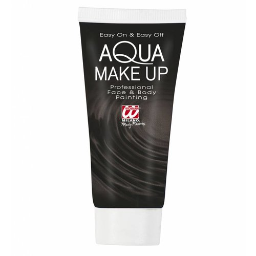 Aqua Make-Up Tube 30Ml Zwart