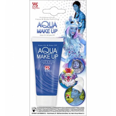 Aqua Make-Up Tube 30Ml Blauw