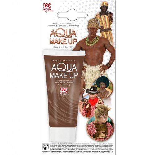 Aqua Make-Up Tube 30Ml Bruin