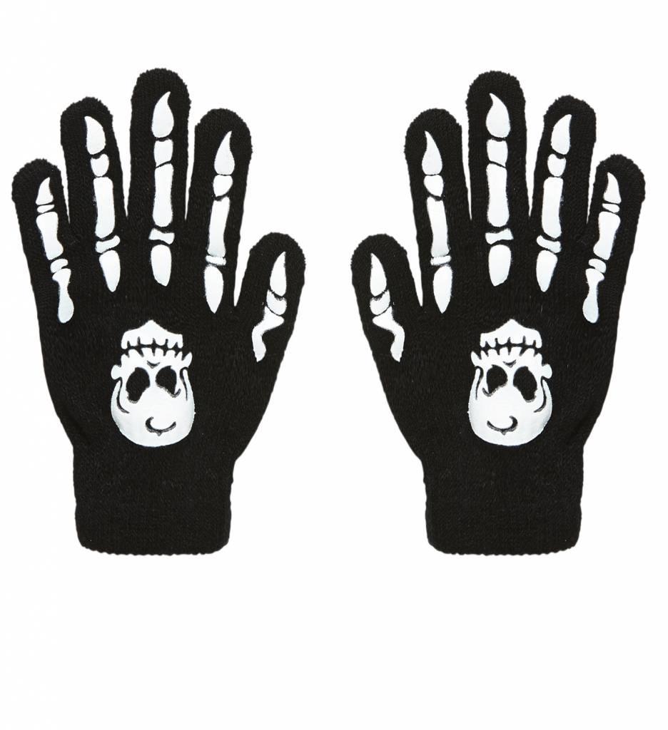 Handschoenen Botten Met Schedel