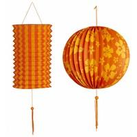 Decoratie Set Oranje/Geel