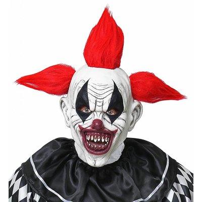 Horror Clown Masker Met Haar