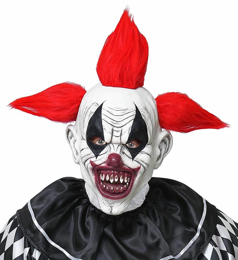 Masker Horror Clown Met Haar