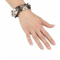 Widmann Armband Zilver/Zwart Met Nagels