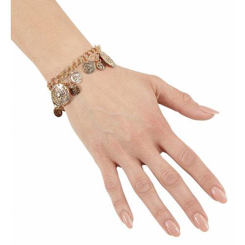 Widmann Armband Goud Met Muntstukken