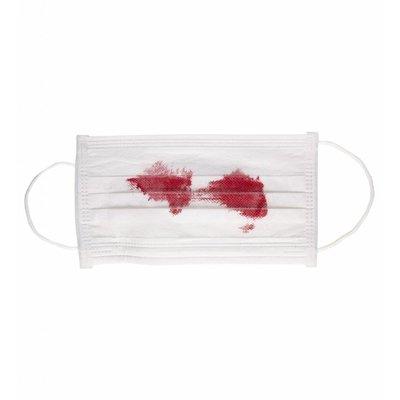 Mondmasker Met Bloed
