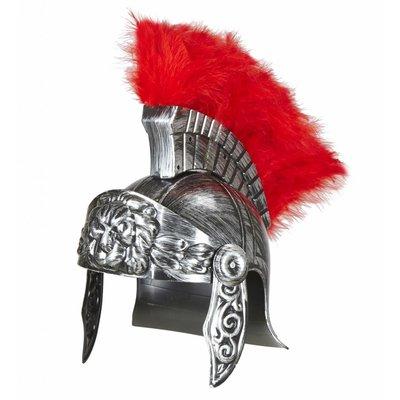 Ouderwetse Romeinse Helm Zilver