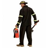 Widmann Brandweerman Zwart