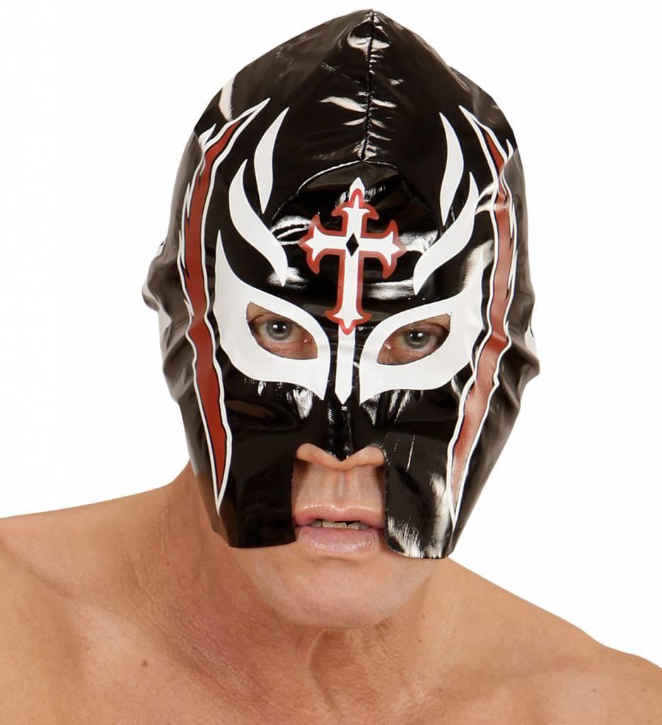 Masker Worstelaar Zwart