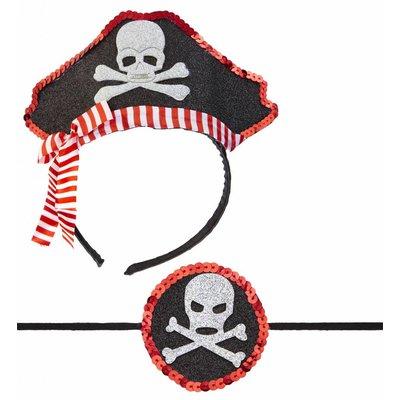 Mini Piratenhoedje Met Ooglapje