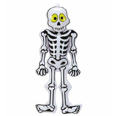 Opblaasbaar Skelet 56Cm