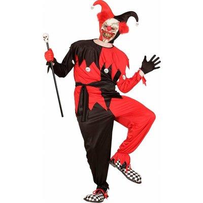 Evil Jester Zwart/Rood