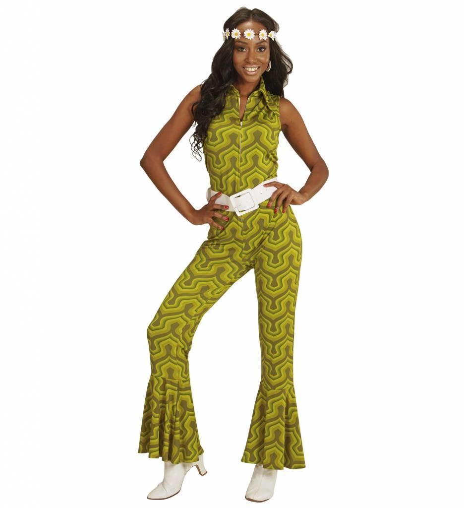 Groovy 70'S Dames Jumpsuit Behang