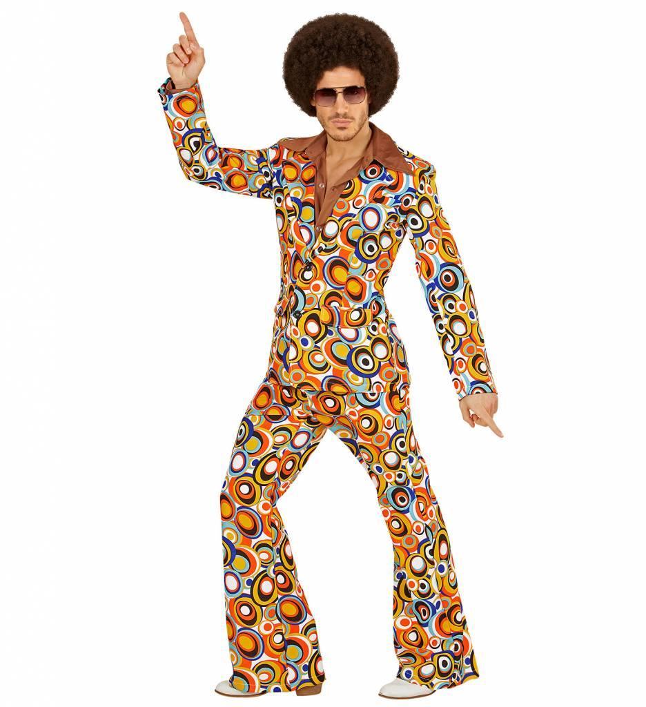 Groovy 70'S Heren Kostuum Luchtbellen