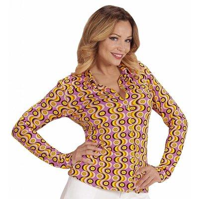 Groovy 70'S Dames Shirt Lp'S