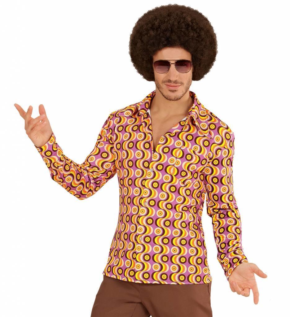 Groovy 70'S Heren Shirt Lp'S