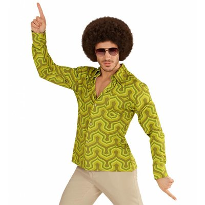 Groovy 70'S Heren Shirt Behang