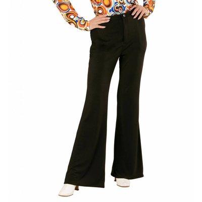 Groovy 70'S Dames Broek Zwart